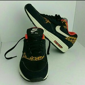 NIKE AIR MAX ONE LEOPARD WOMEN SHOES